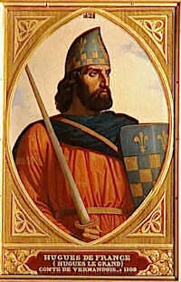 DECAISNE Henri HUGUES DE FRANCE, COMTE DE VERMANDOIS (1057-1101)