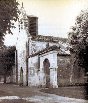 Châteaubernard, facade occidentale