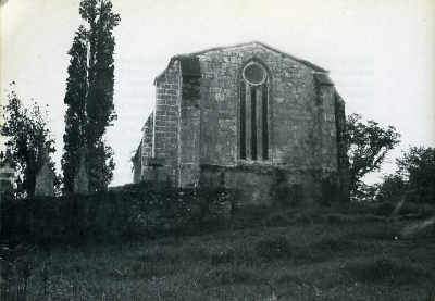 Chapelle de Chierzac, chevet