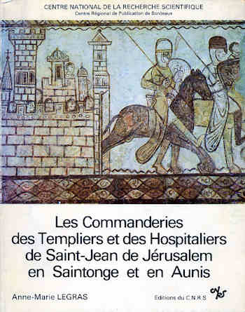 Commanderies en Saintonge et en Aunis